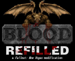 Blood: Refilled Logo